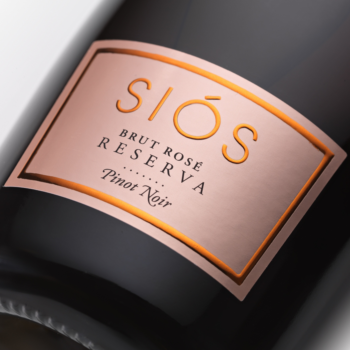 Sparkling wine Siós Brut Rosé label | Costers del Sió Winery